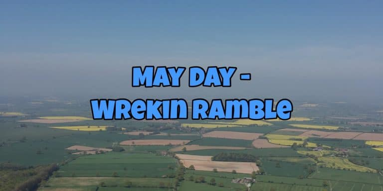 Blog post header ramble up the Wrekin in Shropshire
