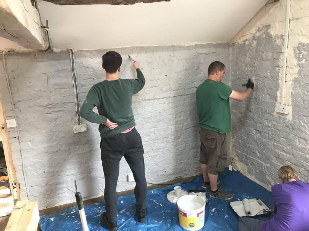 Painting the walls a new shade of grey Spring Bank Holiday 2019