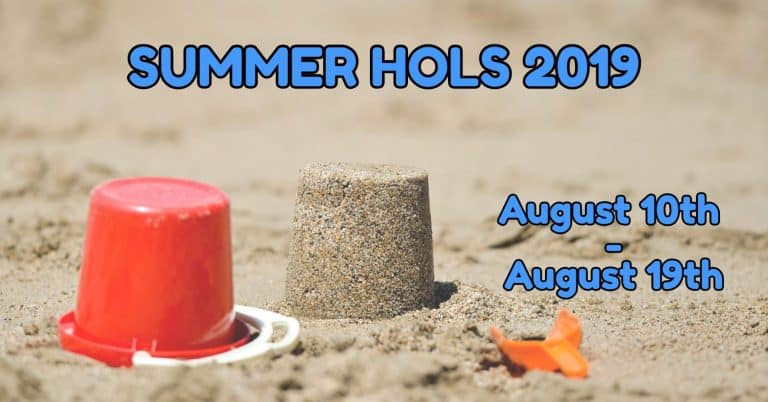 Summer Holiday 2019 Blog Post Header