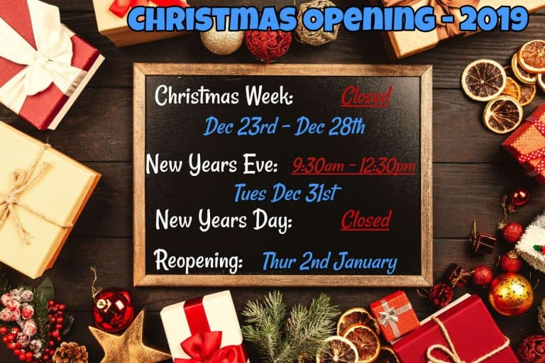 scruffies salon opening hours christmas 2019